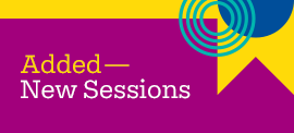 Discover the new sessions added to the AFP 2017 Brochure.