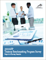 AFP Treasury Benchmarking Program - 2013 Survey