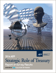 2014 AFP Strategic Role of Treasury Survey