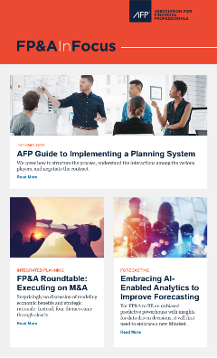 FP&A In Focus Newsletter