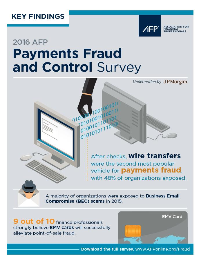 2016 Payments Fraud Infographic