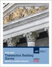2015 AFP Transaction Banking Survey Report