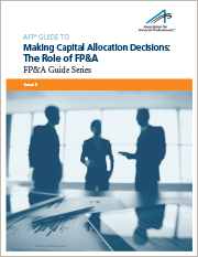 afp guide to making capital allocation decisions
