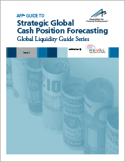 AFP Guide to Strategic Global Cash Position Forecasting