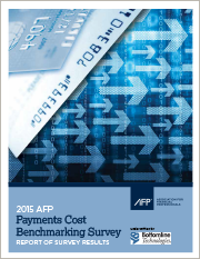 2015 AFP Payments Cost Benchmarking Survey