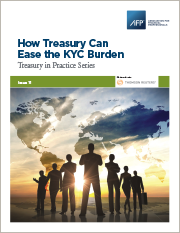 How Treasury Can Ease The KYC Burden Guide