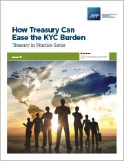 How Treasury Can Ease The KYC Burden