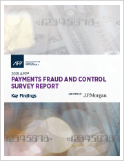 2018 AFP Payments Fraud and Control Survey